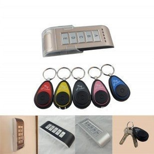 Wireless key finder electronic key anti-lost the device alarm phone valuables search 5 receiver