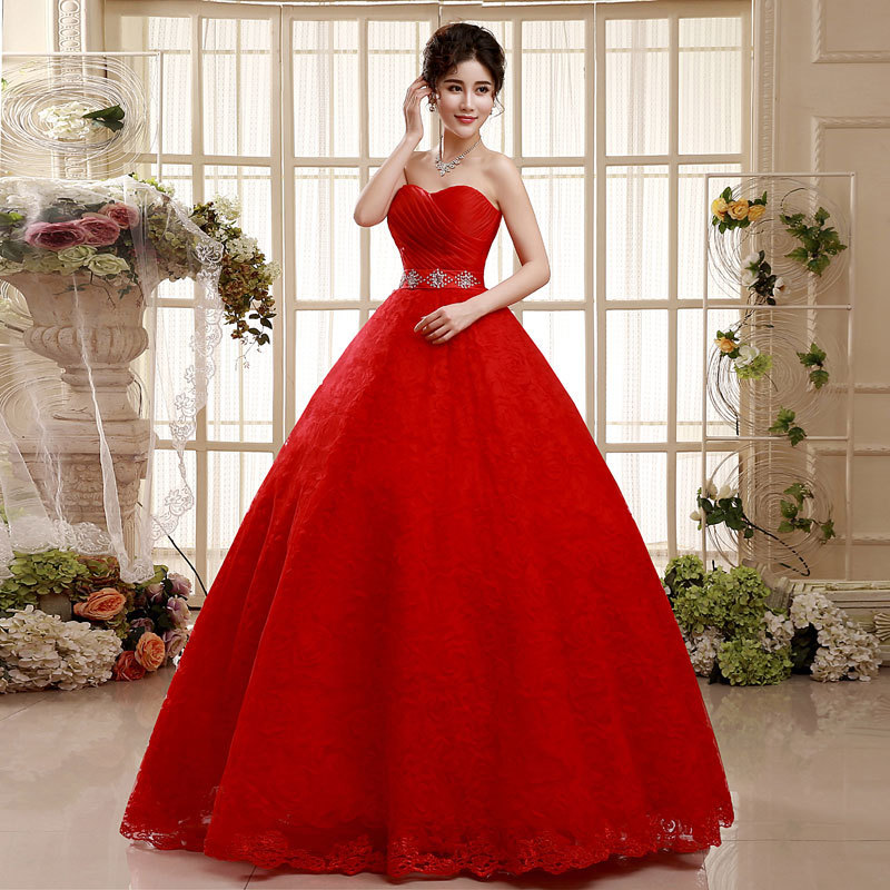 Gallery For Gt Red Rose Wedding Dress
