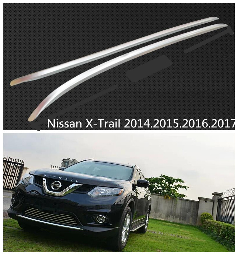 Car Roof Racks Luggage rack For Nissan X-Trail 2014.2015.2016.2017 High Quality New Aluminium European Version Auto Accessories(China (Mainland))