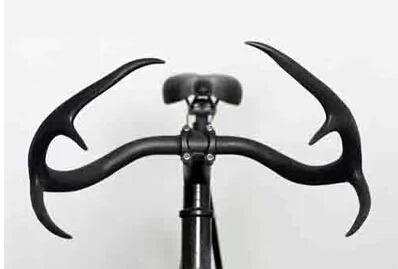 stag antler cycling handlebar alloy bullhorn deerhorn glass fiber road bicycle handle bars fixie Fixed Gear Racing Bike parts(China (Mainland))