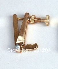100pcs violin fine tuners(made of brass) gold color 4/4 modle of 06#
