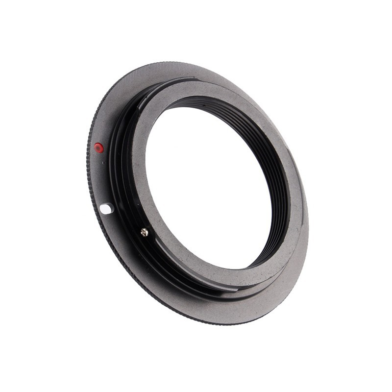For Canon Camera EF Mount Adapter Ring 60D 550D 600D 7D 5D 1100D M42 Lens Black Color Cheap Sale Free Shipping