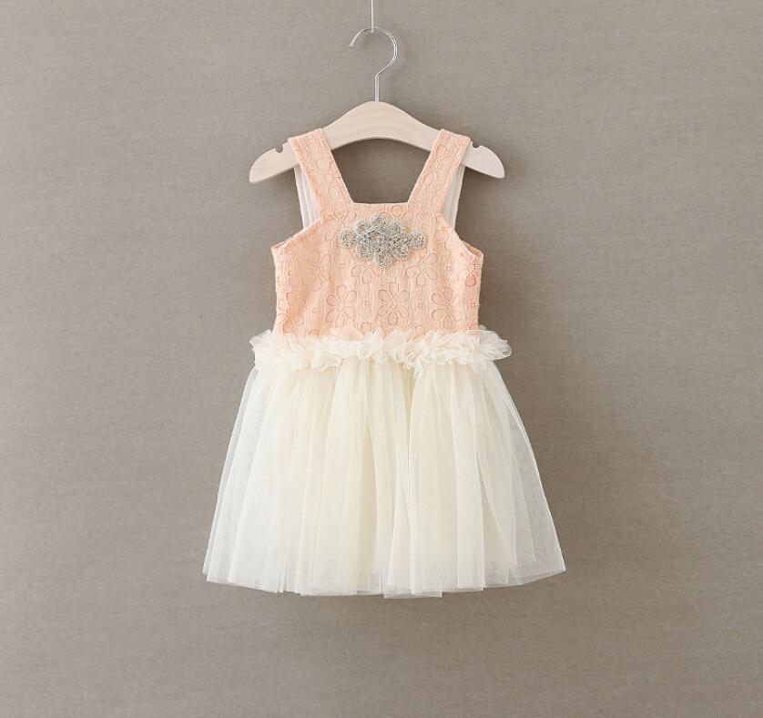 New Baby Girls Fairy Shine Mesh Tutu Dresses, Princess Kids Sweet Party Dance Clothing 5 pcs/lot,Wholesale(China (Mainland))
