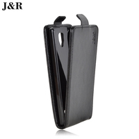 J&R Brand Flip Luxury PU Leather Cover for Lenovo A2010 Phone Case  Vertical Back Cover 21 Colors Good Quality