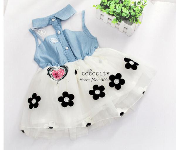 Платье для девочек Brand new 2015 baby vestidos infantil roupas A1810 комплект одежды для девочек babyrow 2015 roupas infantil meninas baby 0515