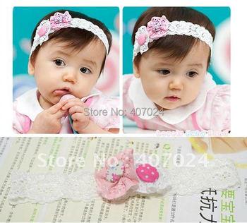 Hot sale baby girl Flower Lace headbands baby hair band Headband children girls kids  hairband headwrap hair accessories 640017