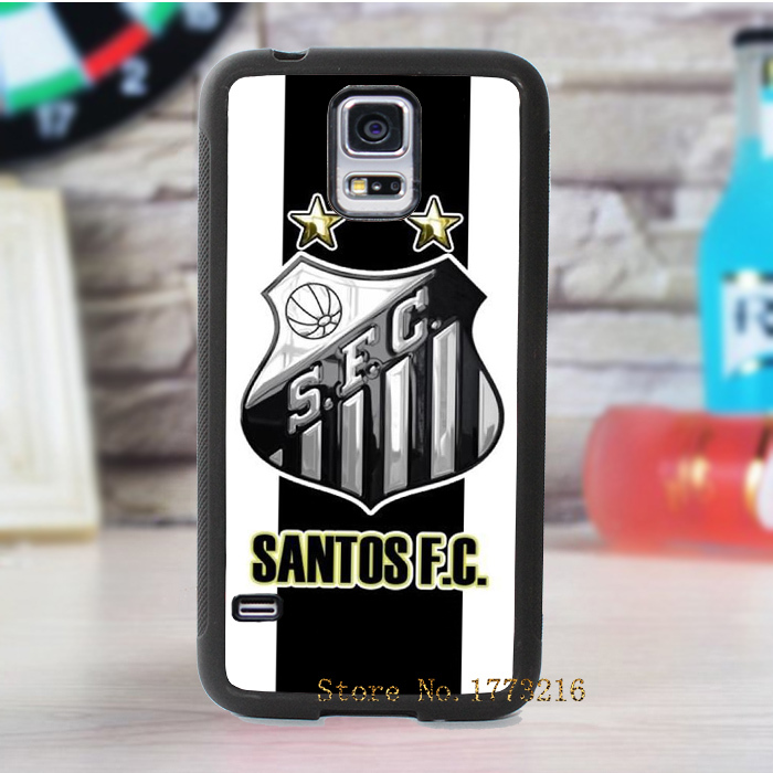 santos fc fashion cover case for samsung galaxy s3 s4 s5 note 2 note 3(China (Mainland))
