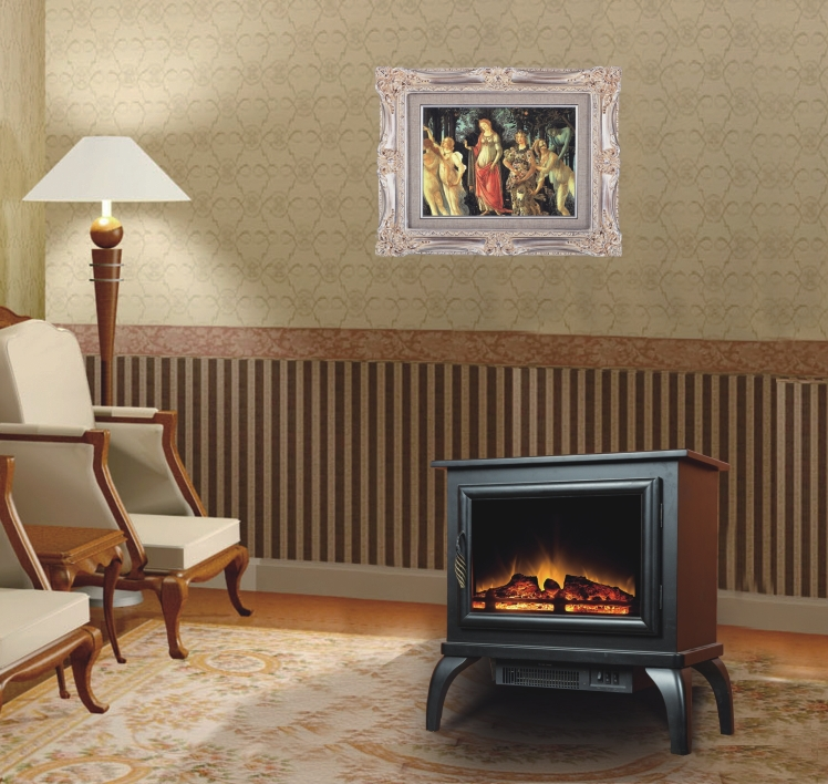 White Electric Fireplace Stove Electric Fireplace / White