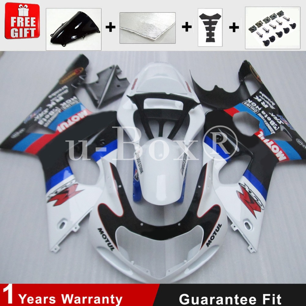 2000 2001 2002 Fairing Kit Injection Mold for Suzuki GSXR 600-75001 02 03 K1 K2 K3 Free EMS Shipping+4 Free Gifts<br><br>Aliexpress