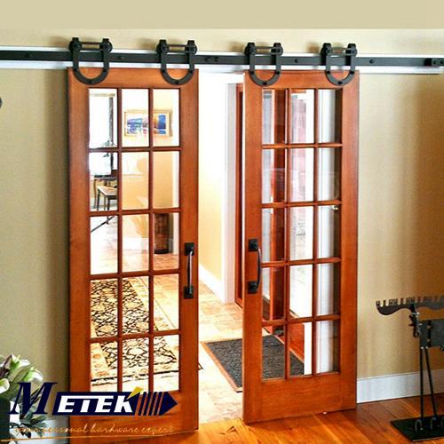 Popular interior barn door buy cheap interior barn door for Interior sliding partition doors