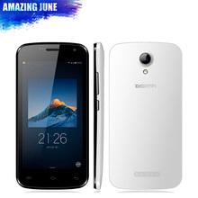 "Original Doogee X3 4.5"" 854*480 WCDMA Mobile Phone Android 5.1 Lollipop MTK6580 Quad Core 1GB RAM 8GB ROM 5MP Dual SIM GPS(China (Mainland))"