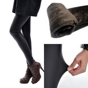 Winter thickened Leggings wholesale women's thin elastic XL Matt leather cashmere is not inverted warm pants factory(China (Mainland))