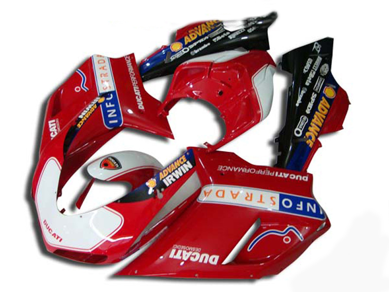 CUSTOM Red Fairing kit for DUCATI 1098 1198 848 2007 2011 ducati 1098 1198 848 07 08 09 10 11 Fairings Set+7gifts DB18(China (Mainland))