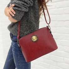 New 2015 women handbag Red+Blue+Brown+Coffee+Black fashion shoulder&messenger bag For WOMEN vintage Pu leather small bags