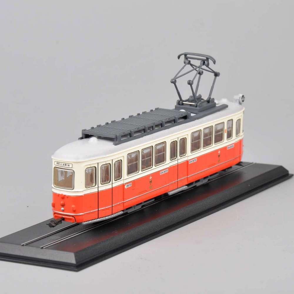 Atlas Tram Diecast Car Model Toys 1/87 Scale C1 Nr.141 Simmering-Graz-Pauker-1957 Truck Bus Car Model Collections(China (Mainland))
