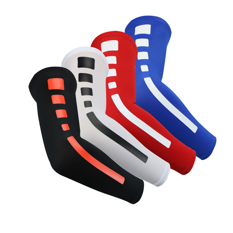 1 Pcs Basketball Badminton Volleyball Tennis Elbow Pads Protector Arm Support Brace Elastic Arm Sleeve Warmer Sport Equipment(China (Mainland))
