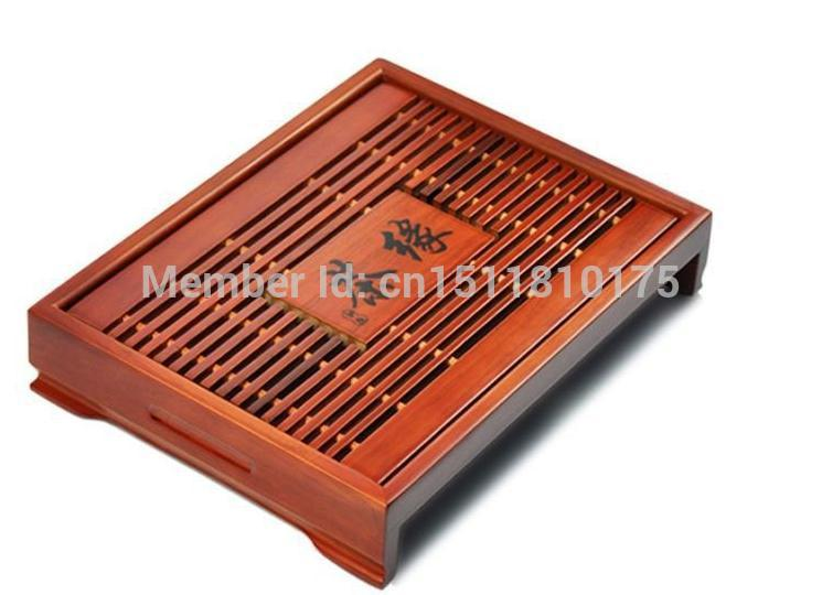 Hot Sale Free Shipping Coffee Tea Sets 33 25 6 cm Solid Wood Tea Tray Chinese