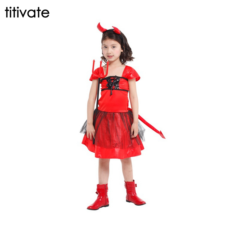 Red devil dresses
