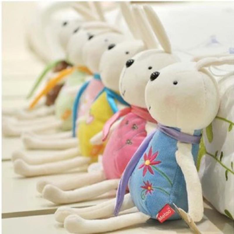 2pcs Kawaii Metoo Angela Dolls Bunny Baby Toy Smile Rabbit Plush Toy Stuffed Animal Metoo Wedding Decorations Birthday Present(China (Mainland))