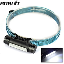 New!!! MINI 400LM Rechargeable LED Headlight 3Mode  Headlamp Flashlight Head Lamp Torch Light+USB Cable/Built-in 2200mAh battery(China (Mainland))