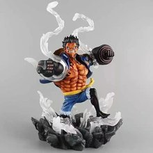 Buy 26cm Japanese classic anime figure pvc one piece monkey D Luffy action figure collectible model toys boys for $38.78 in AliExpress store