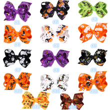 Buy 50 pcs/lot, 8 cm Grosgrain Hair Ribbon Bows Hair Accessories With Clip Boutique Bows Hairpins for $22.00 in AliExpress store