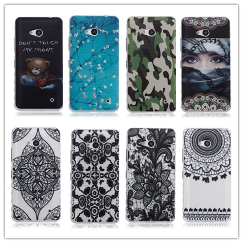 Cartoon Black Stripes Soft TPU Phone Cover For Microsoft Lumia 550 case N550
