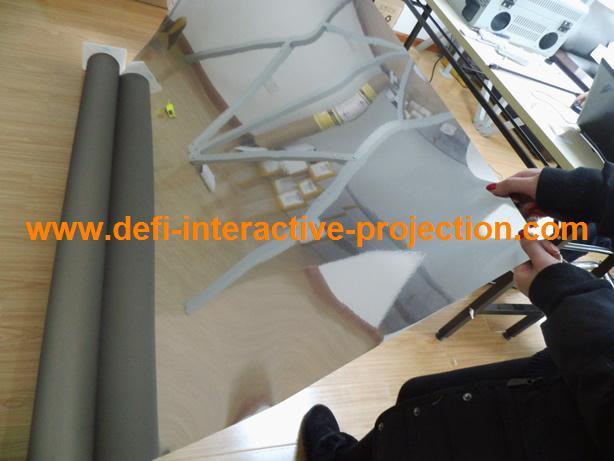 Проекционный экран Defi ! 3d windows honxin 72 дюймовый 4 3 электрический занавес проектор проектор занавес экран проекционный экран занавес ткань ткань
