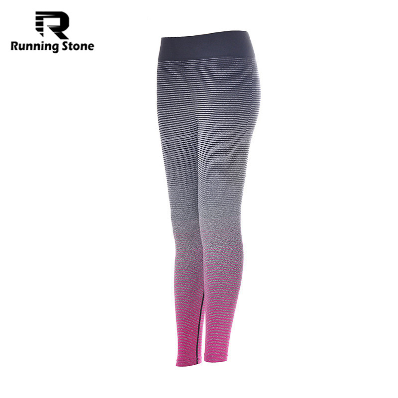 Women Running Tights Sports Suits Cycling Workout Pants Female Fitness Trousers Gym Slim Workout Leggings Yoga Sports(China (Mainland))