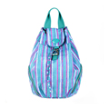 Trendy Fashion Print Daypack Lady Casual Backpack Women Designer Solid Color Simple Drawstring Flap Bag New