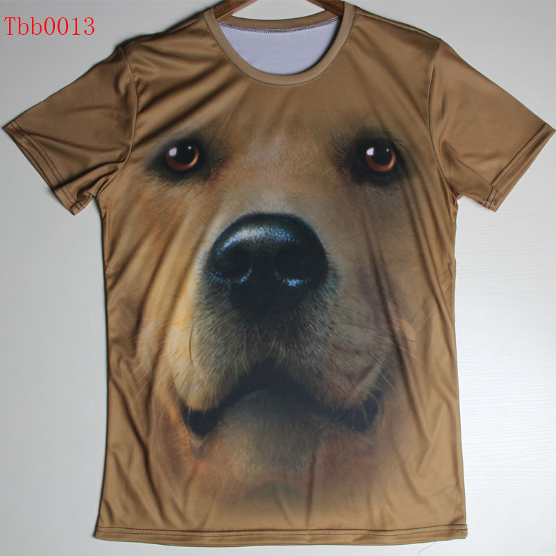 Newest 3D T Shirt Animal T shirt Dog/Wolf/ Lord of the Rings/Baby Print t shirt Good Quality Men t-shirts casual shirt(China (Mainland))