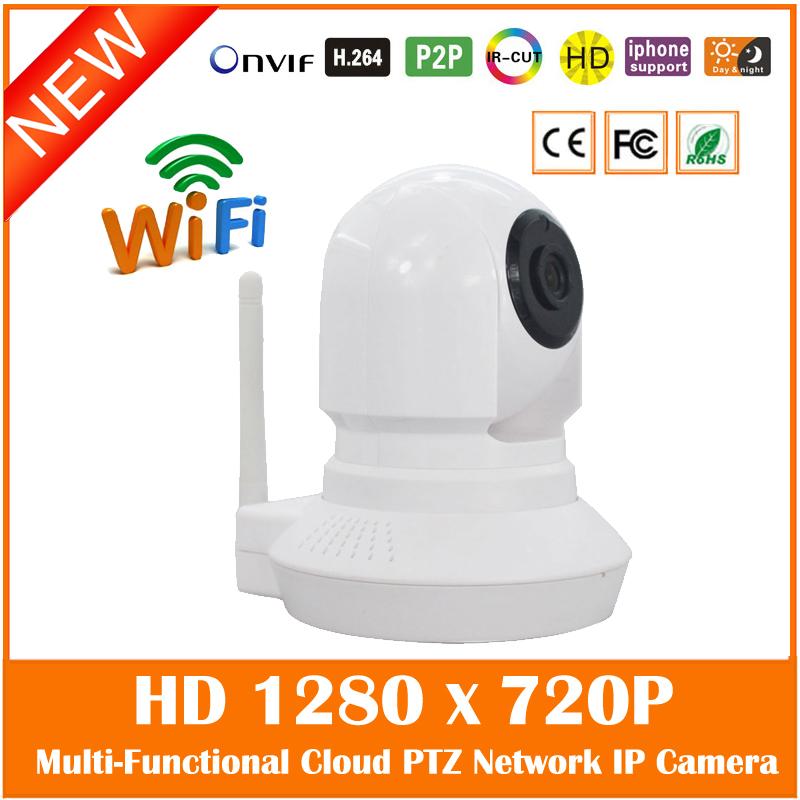 Baby Monitor HD 720P Pan/Tilt WiFi Wireless IP Camera Night Vision P2P Two Way Audio TF Card Slot Indoor Surveillance PTZ Camera(China (Mainland))