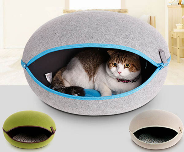 2015 new pet dog cat Removable Egg-type house doggy Four Seasons General bed puppy kennels dogs cats litter pets supplies 1pcs(China (Mainland))