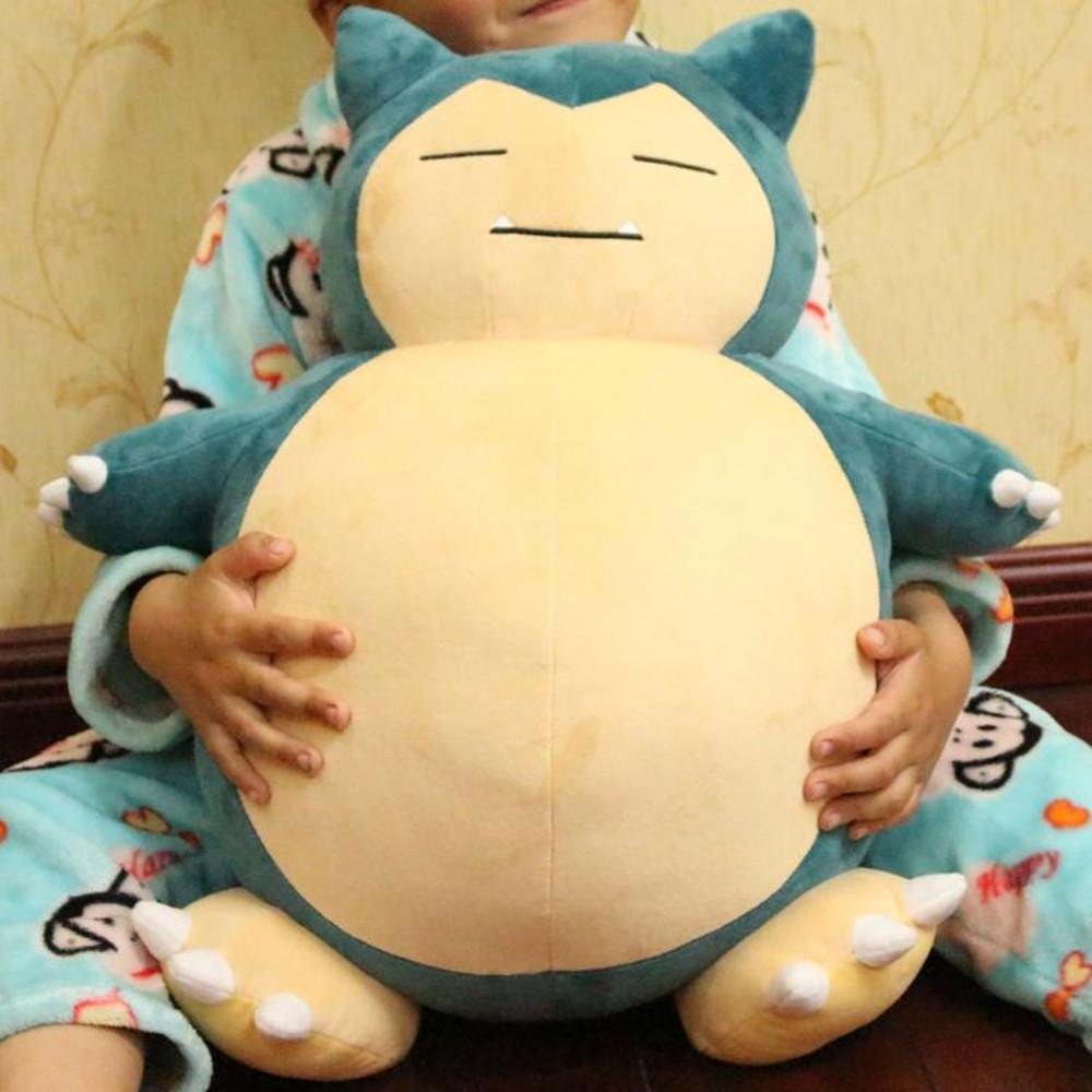 1pc 50cm Anime Center Jumbo Snorlax 55cm Stuffed Doll Plush Baby Toys Cotton Soft Stuffed Doll Figure Christmas Gifts(China (Mainland))