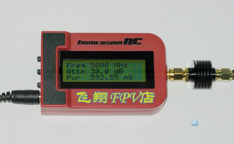 Shark Power Meter : Fatshark immersionrc rf power meter with db attenuator