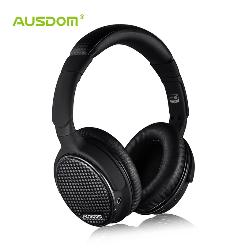 Ausdom M05 Over-Ear Bluetooth Stereo Headphones Apt-X Wireless Hi-Fi Skype Chat Headset with Microphone for IPhone Huawei Xiaomi(China (Mainland))