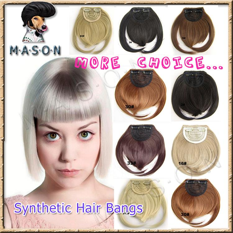 Clip-on Bangs Bang Extension Clip in on