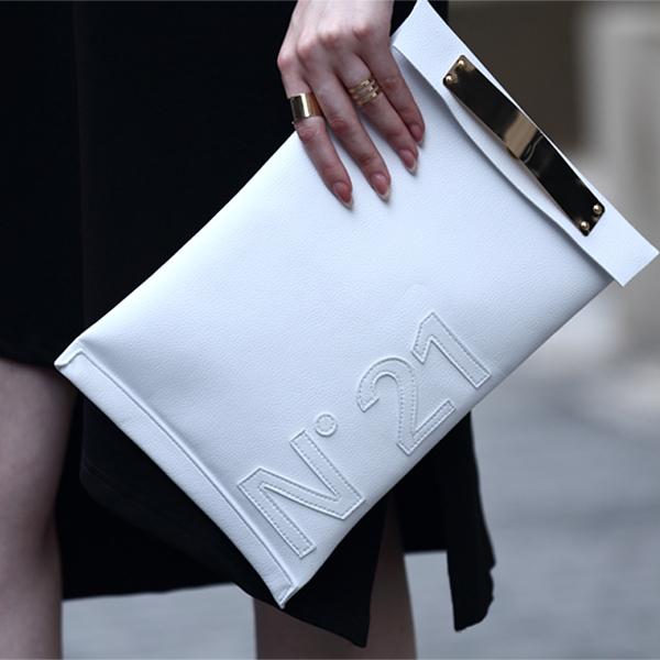 Fashion Leather Women Bag Bolsa feminina 2015 Letter Casual Clutch Bags Metal Envelope Handbags Rock style Clutch Purse(China (Mainland))