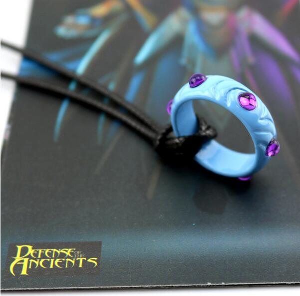 Wholesale / Retail Game Dota2 Hero equipment props alloy jewelry necklace cosplay accessories necklace(China (Mainland))