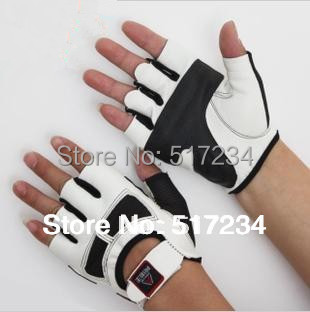 New 2015 Hot Sell High Quality Fitness Gloves Bodybuilding Training Motorcycle Gloves Weights Gym 2 Color 2 Size Choices(China (Mainland))