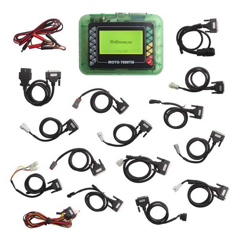 MOTO 7000TW Universal Motorcycle Scan Tool for most motorbike brands(China (Mainland))