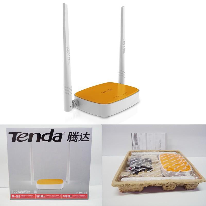 Маршрутизатор Tenda N WIFI 300 /4 RJ45 802.11 b/g/N N304