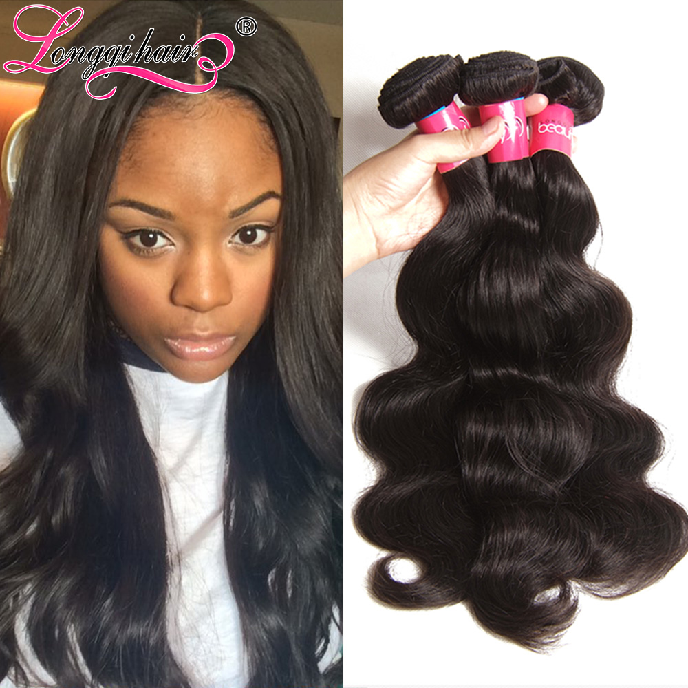 Lot Peruvian Virgin Hair Body Wave 7A Unprocessed Weave, Human Extension Longqi - Xuchang Beauty Products Co., Ltd. store