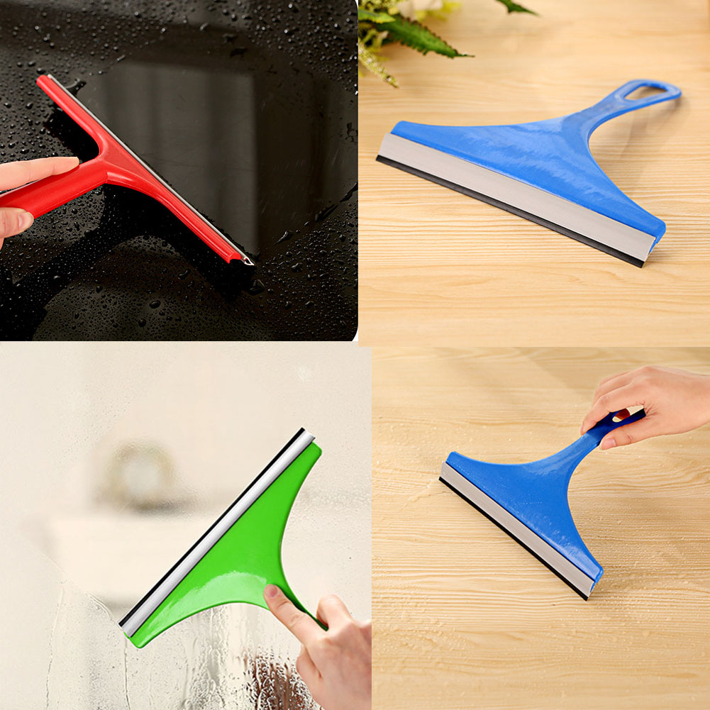 New Durable Window Mirror Car Windshield Squeegee Glass Wiper Silicone Blade Cleaning Shower Screen Washer(China (Mainland))