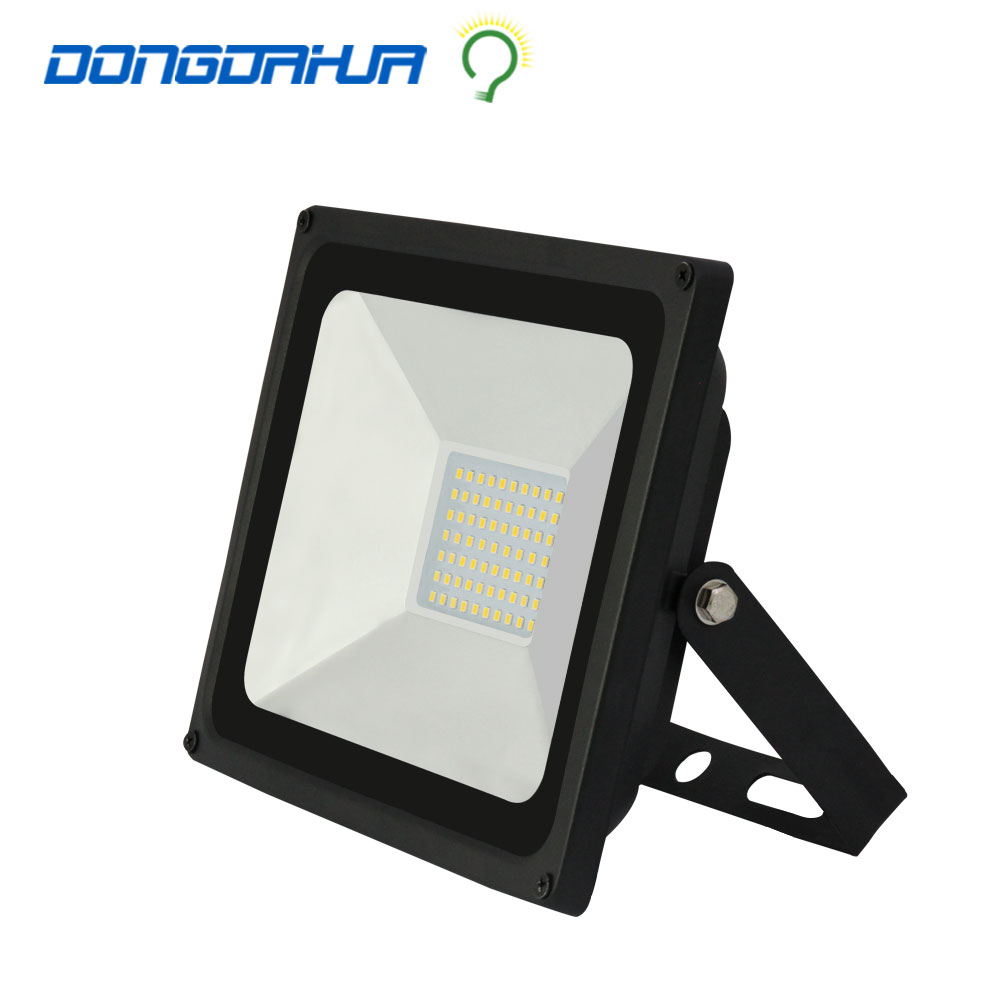 85-265V LED Reflector LED Spotlight super bright outdoor lighting LED flood light 110V 220V 50w floodlight lamp garden lighting(China (Mainland))