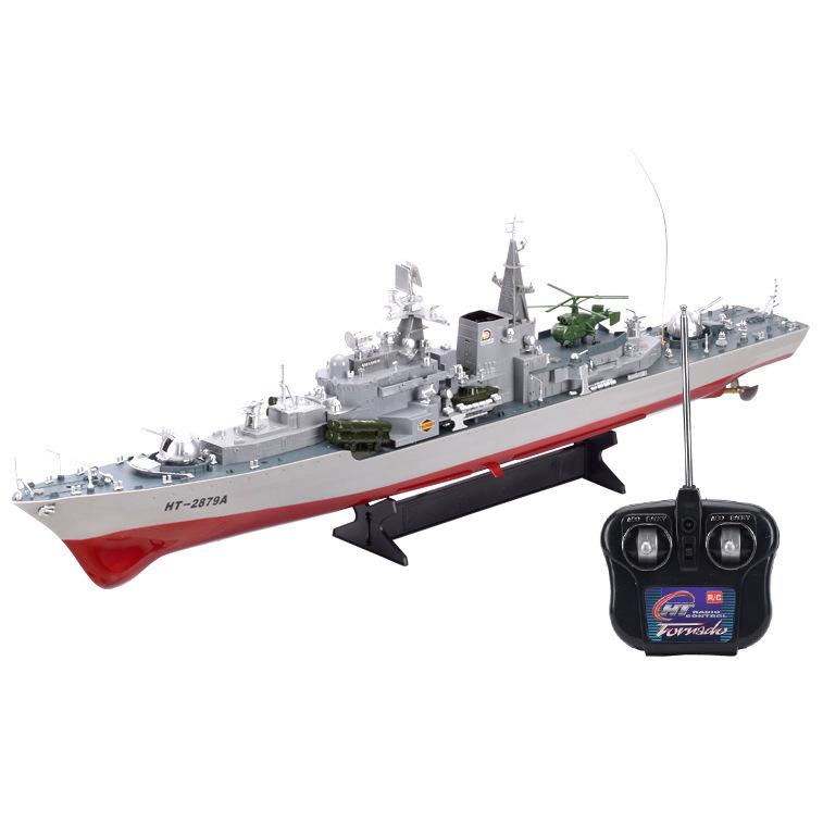 2879A 1:275 Remote radio control military RC boat destroyer model toy Simulation Model RC Warship Cruiser Warship best gift(China (Mainland))