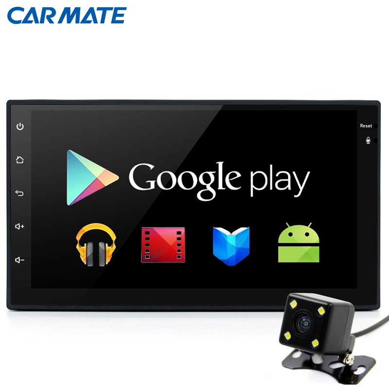 Quad-core 2 din Android 4.4 Universal Car Radio Double Car DVD Player GPS Navigation 2din In dash Car PC Stereo video Free map(China (Mainland))