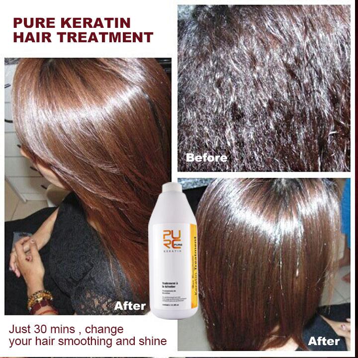 Keratin Treatment After Hair Dye