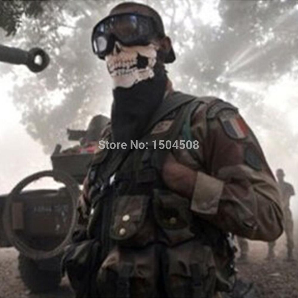 air force Skull Tubular Protective Dust Mask Bandana Motorcycle Polyester Scarf Face Neck Warmer Mask free