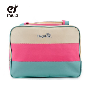 Fashion Diaper bag Colorful nappy bag Waterproof mummy bags Multifunction Baby bags shoulder high-Capacity tote for stroller